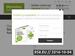 Miniaturka domeny marketing-automation.com.pl