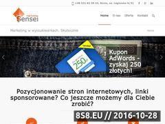 Miniaturka domeny marketing-sensei.pl