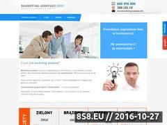 Miniaturka domeny marketing-szeptany.info