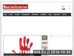 Miniaturka domeny www.marketinginternetowy.pl
