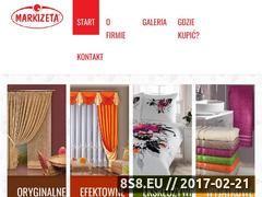 Miniaturka domeny www.markizeta.com.pl