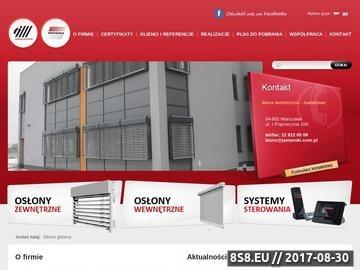 Zrzut strony Rolety zewnętrzne Warszawa