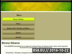 Miniaturka domeny markopradom.pl