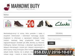 Miniaturka domeny markowebuty.com.pl