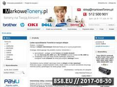 Miniaturka domeny www.markowetonery.pl