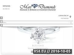 Miniaturka domeny www.martdiamonds.pl