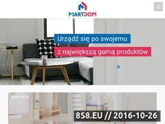 Miniaturka domeny martdom.pl