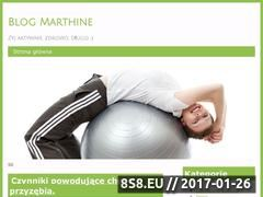 Miniaturka domeny marthine.pl