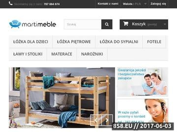 Zrzut strony Producent metalowych łóżek piętrowych dla dzieci i nie tylko
