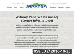 Miniaturka domeny marynaplock.pl