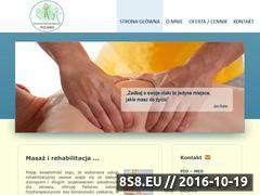 Miniaturka domeny www.masaz-radomsko.pl