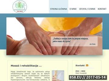 Zrzut strony Rehabilitacja Radomsko