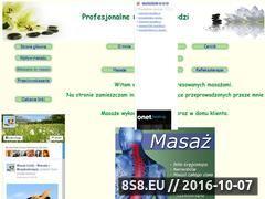 Miniaturka domeny www.masazelodz.republika.pl