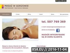 Miniaturka domeny masazwgorzowie.pl