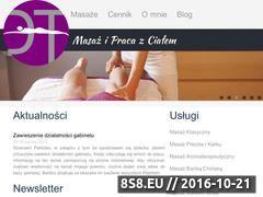 Miniaturka domeny www.masazwkrakowie.pl
