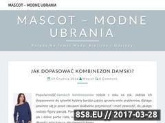 Miniaturka domeny mascot.com.pl