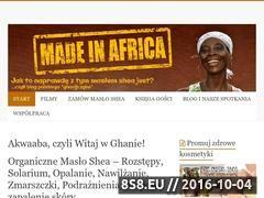 Miniaturka domeny masloshea.com.pl