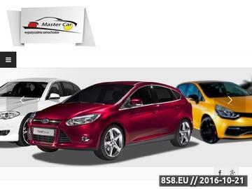 Zrzut strony Wypożyczalnia aut Master Car