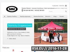 Miniaturka domeny www.mastermarket.com.pl