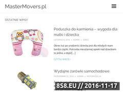 Miniaturka domeny www.mastermovers.pl