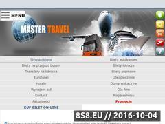 Miniaturka domeny mastertravel.pl