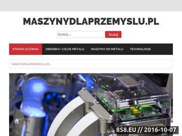 Zrzut strony Serwis Maszyny Dla Przemysłu
