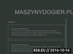 Miniaturka domeny maszynydogier.pl