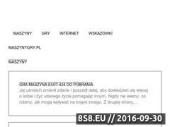 Miniaturka domeny maszynygry.pl