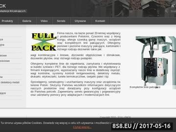 Zrzut strony FULL-PACK - etykieciarki
