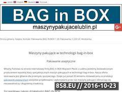 Miniaturka domeny www.maszynypakujacelublin.pl