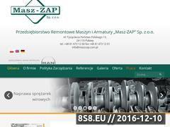 Miniaturka domeny www.maszzap.com.pl