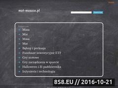 Miniaturka domeny mat-masaze.pl