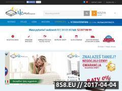 Miniaturka domeny www.materace-24.pl