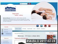 Miniaturka domeny www.materasso.com.pl