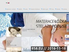 Miniaturka domeny www.materasso.pl