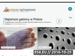 Miniaturka domeny materialyinzynierskie.pl