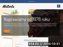 Miniaturka domeny materla.com.pl