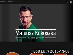 Miniaturka domeny www.mateusz-kokoszka.pl