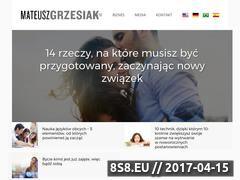 Miniaturka domeny mateuszgrzesiak.pl