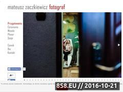 Miniaturka domeny mateuszzaczkiewicz.pl