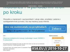 Miniaturka domeny www.matma.rybnik.pl