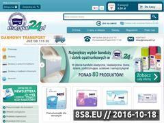 Miniaturka domeny www.matopat24.pl