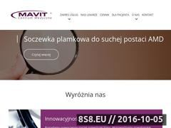 Miniaturka domeny www.mavit.com.pl