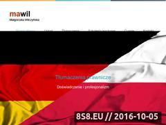Miniaturka domeny www.mawil.pl