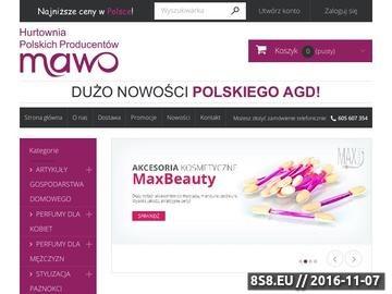 Zrzut strony Kosmetyki i akcesoria