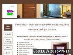 Miniaturka domeny www.max-door.pl