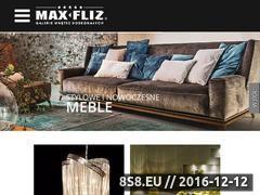 Miniaturka domeny www.max-fliz.com.pl