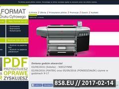 Miniaturka domeny www.maxformat.com.pl