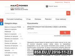 Miniaturka domeny maxforpower.pl