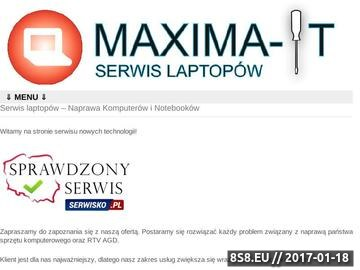 Zrzut strony Naprawa laptopów Wrocław